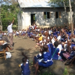 Uozi Primary School - I Love African Rock Art
