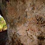 Lake Victoria. Two sets of concentric circles. Suba. Image ID: kenvic0010001