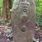 Ikom Monoliths, carved stones in Cross River State in Southern Nigeria.