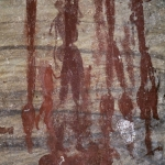 Close up of the human figures in previous image, SOASWC0020008
