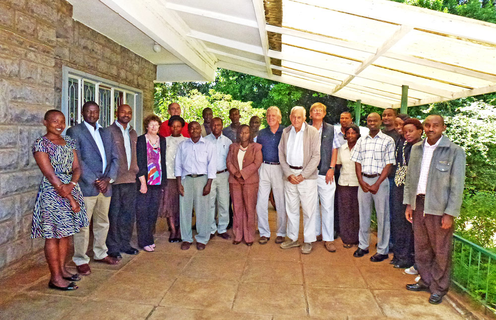 Executive Board & TARA Staff Members, Nairobi 2011.