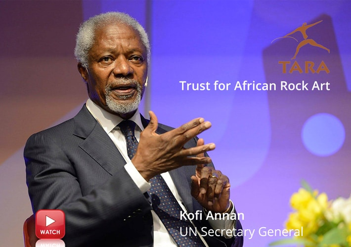 Kofi Annan, Africa, endangered rock art heritage, History of Rock Art, rock art techniques, David Coulson, carvings, Paintings
