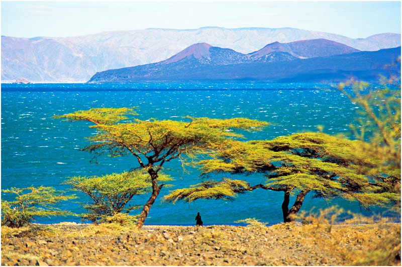 Lake Turkana with South