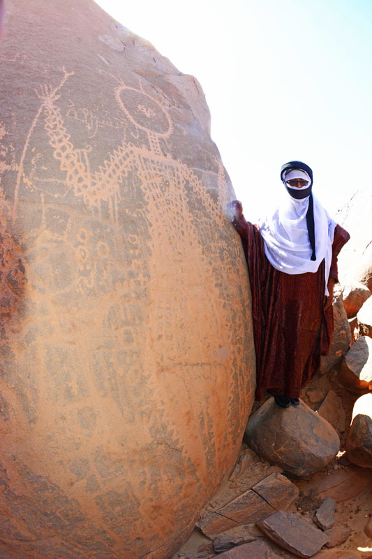 Rock art- Niger