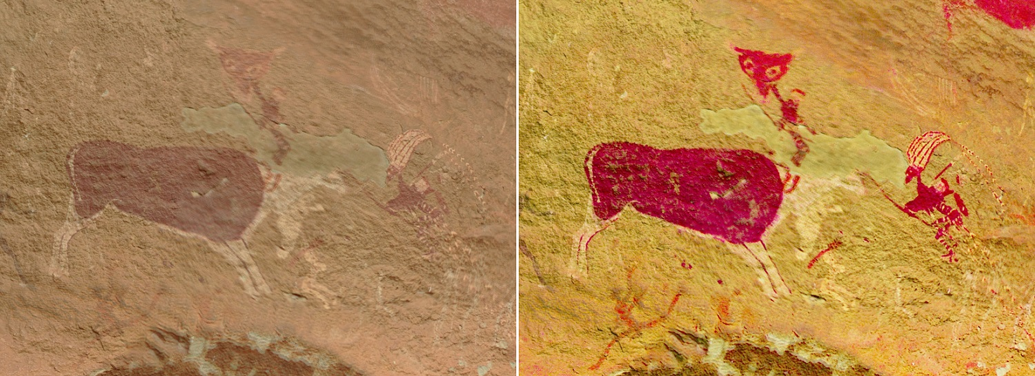 technology preserving rock art