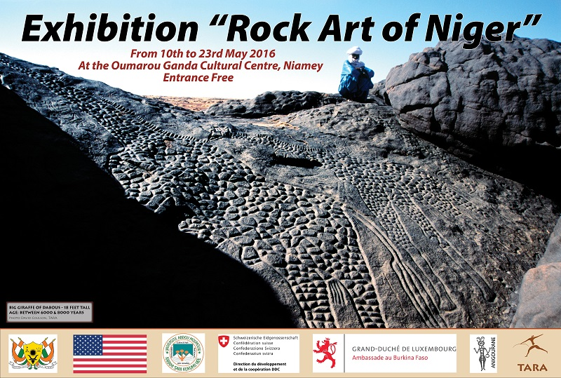 niger rock art exhibition