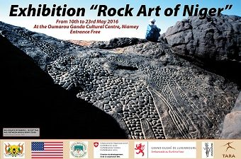 niger rock art exhbition