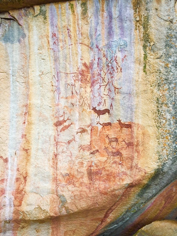 new rock art Zimbabwe