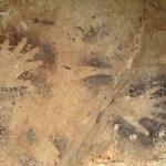 Wadi el Obeyied. Handprints. Image ID: egyweo0010031