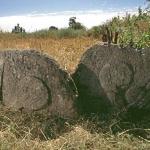 Curved stones at Ambet, Sodo region. Image ID: ethtbu0080002