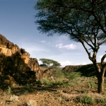 Turkana. Rock boulder, Turkana. Image ID: kentur0010046