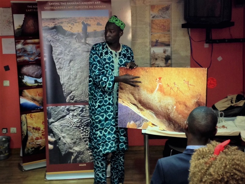Cultural Mediation with Rock Art: 5 Questions with Hamidou Moussa