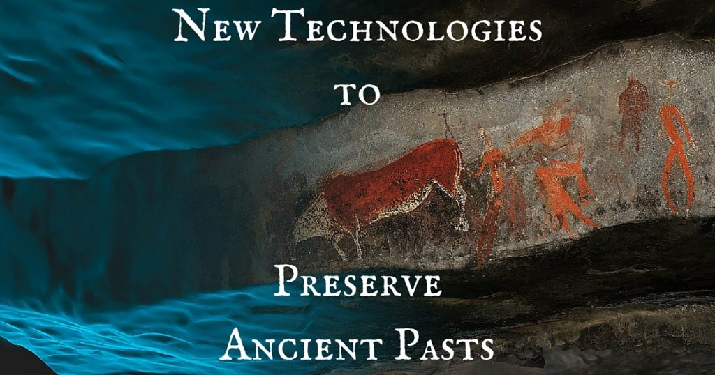 Using new technologies to preserve ancient pasts