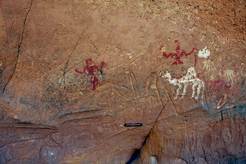 camel rock art